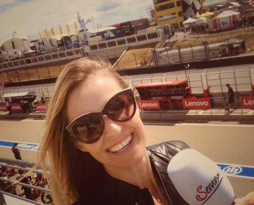 Sachsenring Fahrerlager Moderatorin Eve Scheer on Instagram Sachsenring